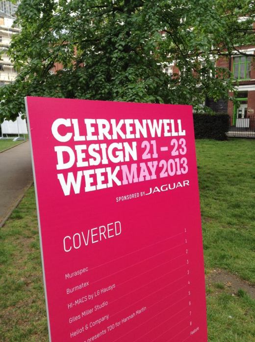 Pedro Gomes Design Studio @ Clerkenwell Design Week